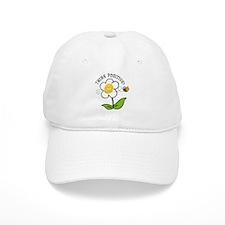 Think Positive Bee Baseball Cap
