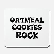 Oatmeal Cookies Rock Mousepad
