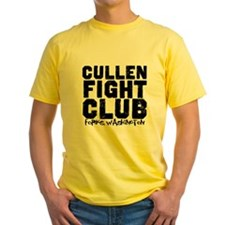 Cullen Fight Club Yellow T-Shirt