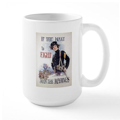 If You Want to Fight Large Mug