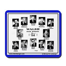 Walsh High School Class of 1956 Mousepad