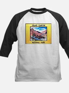 Grand Canyon National Park Kids Baseball Jersey