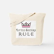 Little Sisters Rule Tote Bag