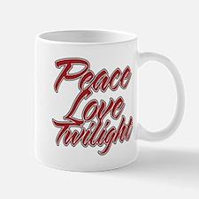 Peace Love Twilight Mug