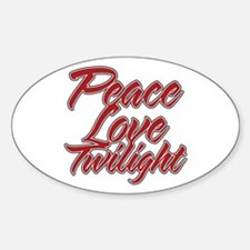 Peace Love Twilight Decal