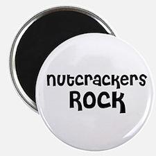 Nutcrackers Rock Magnet