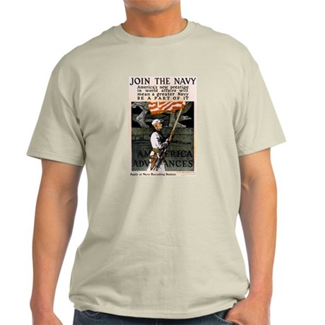 Join the Navy - Be Part of It Light T-Shirt
