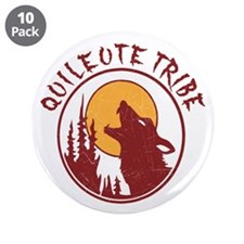 """Quileute Tribe Wolves 3.5"""" Button (10 pack)"""