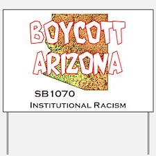 Boycott Arizona Yard Sign