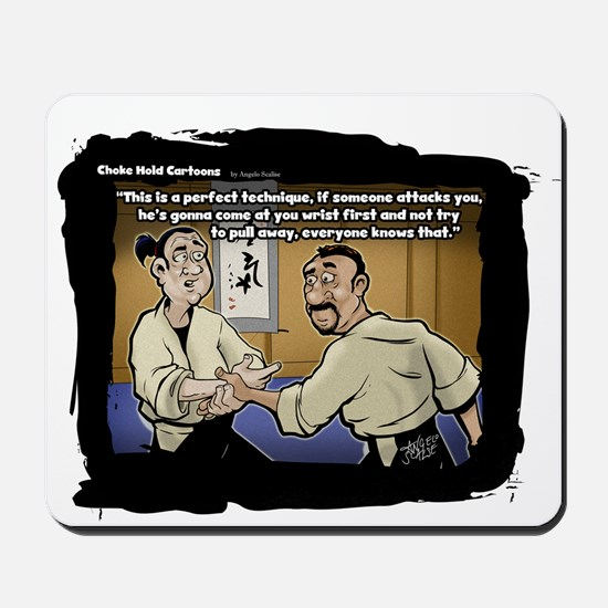 Choke Hold Comics: Trainer Mousepad