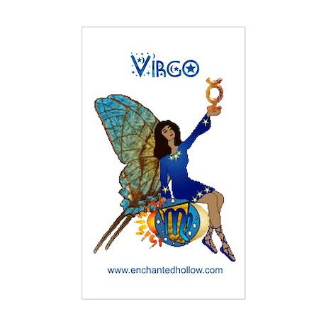 Virgo #2 Rectangle Sticker