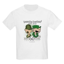 60th Anniversary Kids Light T-Shirt