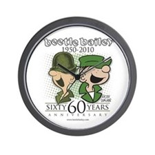 60th Anniversary Wall Clock