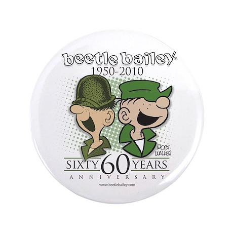 """60th Anniversary 3.5"""" Button"""