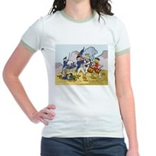 Revolutionary Beetle Jr. Ringer T-Shirt