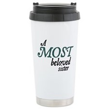 Jane Austen Most Beloved Sister Thermos Mug