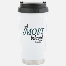Jane Austen Most Beloved Sister Thermos Mug
