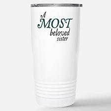 Jane Austen Most Beloved Sister Travel Mug