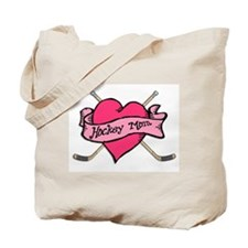 Hockey Valentine Tote Bag