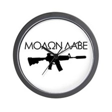 Molon Labe (Rifle) Wall Clock