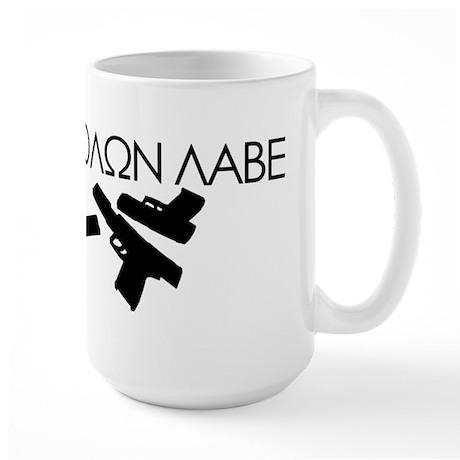 Molon Labe (Multi Guns) Large Mug