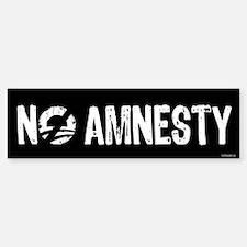 No Amnesty Sticker (Bumper)