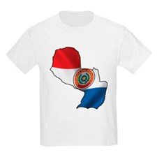 Map Of Paraguay T-Shirt