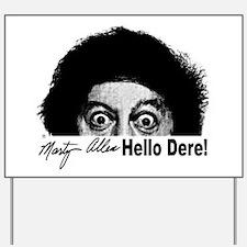 Hello Dere! Yard Sign