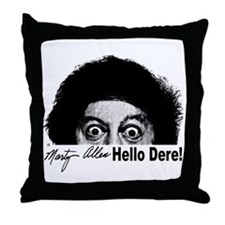 Hello Dere! Throw Pillow
