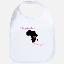 I love you Kinyarwanda Bib