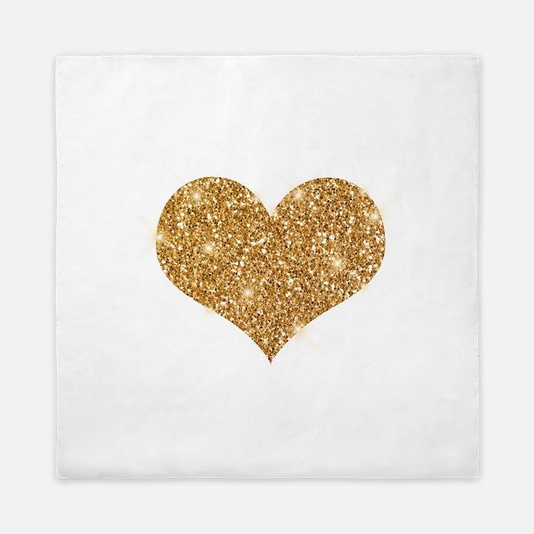 glitter-heart_0006_gold.png Queen Duvet