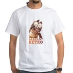 Mr Fuggles Retro-T pale T-Shirt