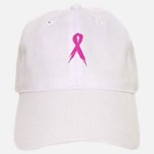 Pink Ribbon Baseball Baseball Cap