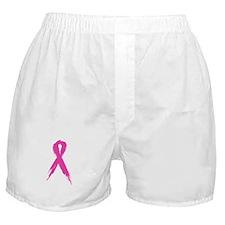 Pink Ribbon Boxer Shorts