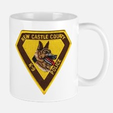 New Castle County Police K9 Mug