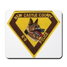 New Castle County Police K9 Mousepad