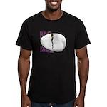 Egg Comfort Men's Fitted T-Shirt (dark)