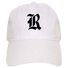"Letter ""R"" (Gothic Initial) Baseball Cap"