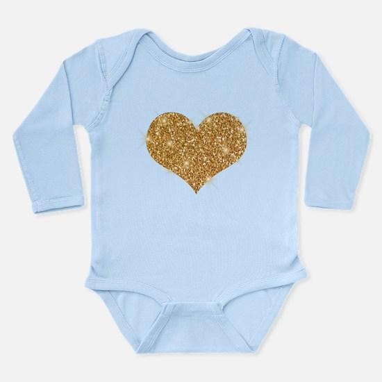 glitter-heart_0006_gold Body Suit