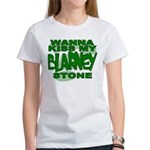 Kiss My Blarney Stone Women's T-Shirt
