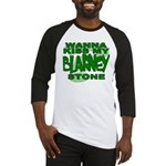 Kiss My Blarney Stone Baseball Jersey