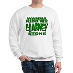 Kiss My Blarney Stone Sweatshirt