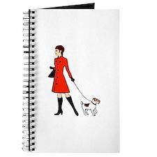 chic dog walker Journal