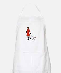 chic dog walker Apron