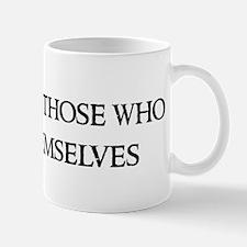 God helps those Mug