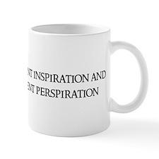 Genius is one percent Mug
