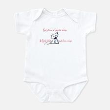 Cupid Killer Kitty Infant Bodysuit