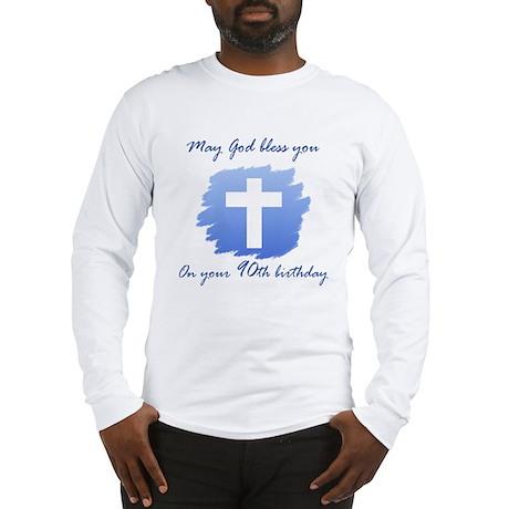 Christian 90th Birthday Long Sleeve T-Shirt