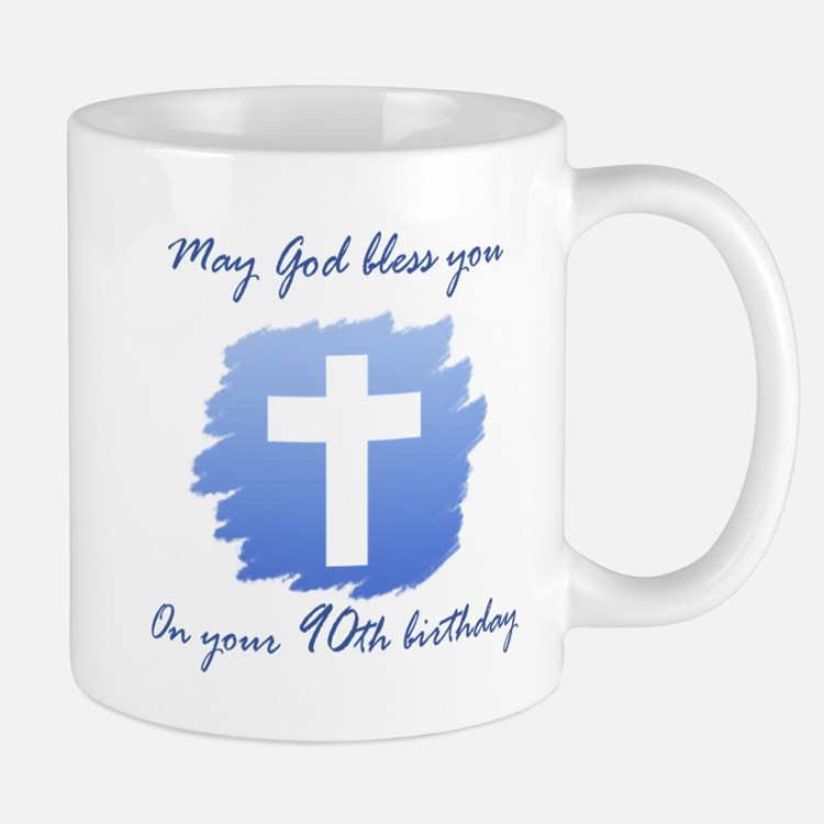 Christian 90th Birthday Mug