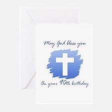 Christian 90th Birthday Greeting Cards (Pk of 10)